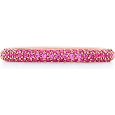 Kwiat Pink Sapphire Moonlight Ring