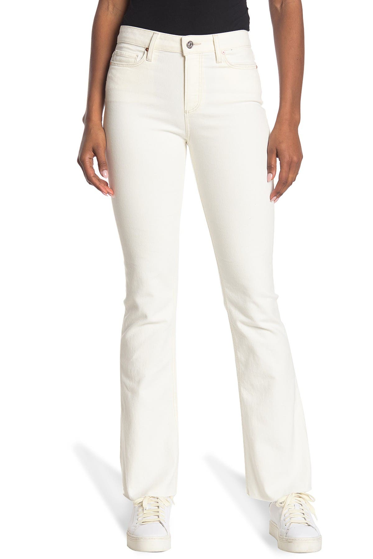 Image of PAIGE Laurel Canyon High Rise Bootcut Jeans
