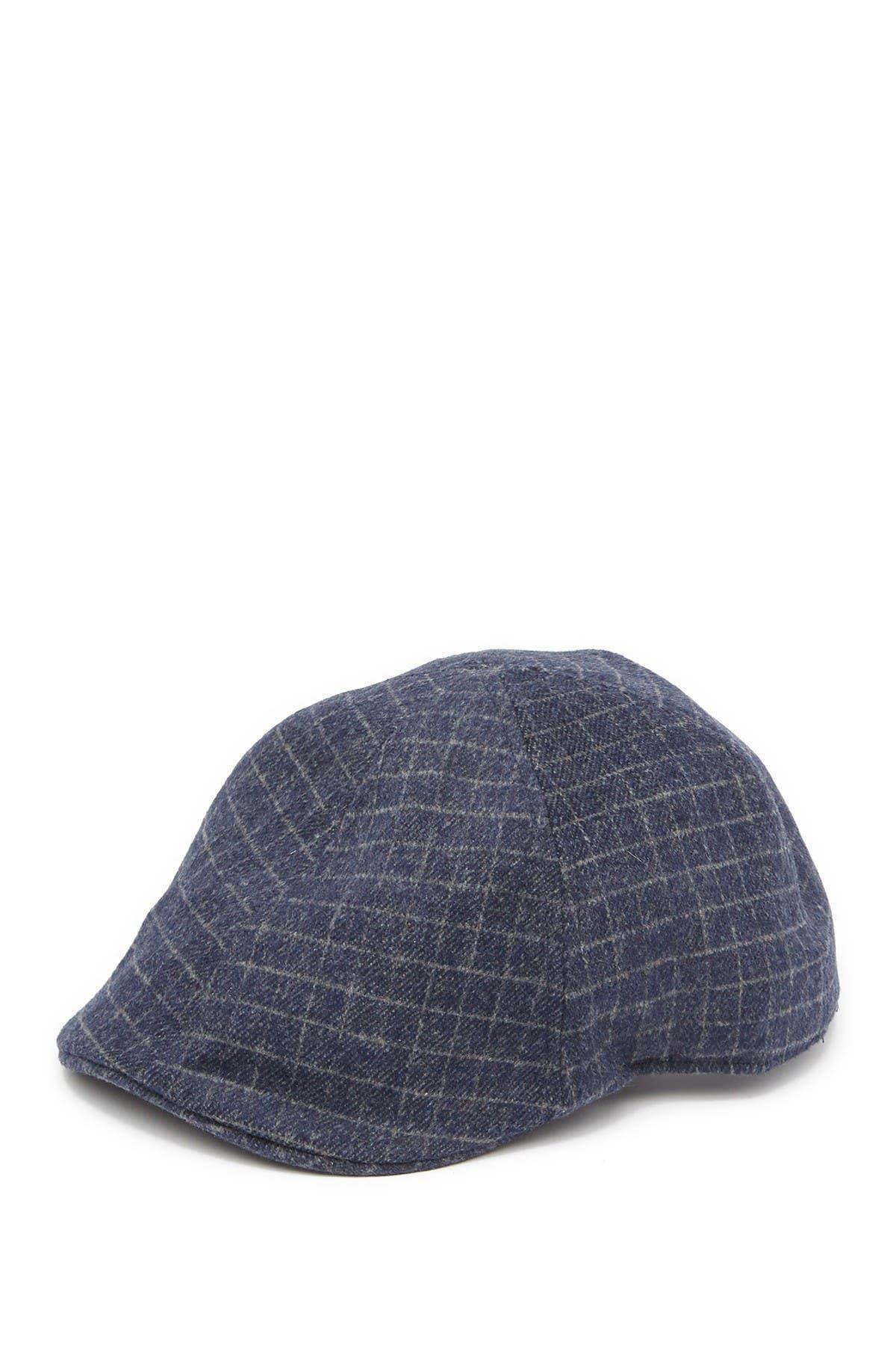 Image of SAN DIEGO HAT Plaid Flannel News Boy Cap