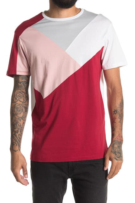 Image of Karl Lagerfeld Paris Colorblock T-Shirt