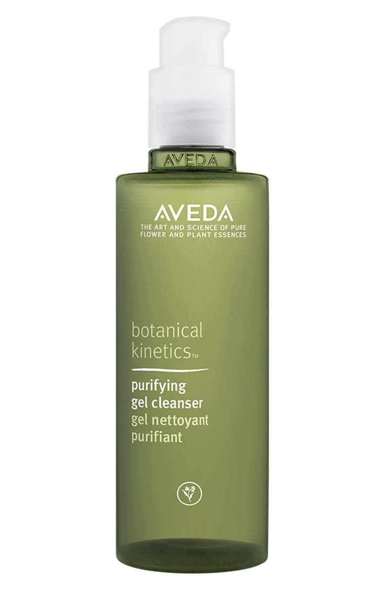 AVEDA botanical kineticsPurifying Gel Cleanser - COME READ Summer to Fall Skin Care & Makeup in case you care to peek in my Fierce Over 40 arsenal.