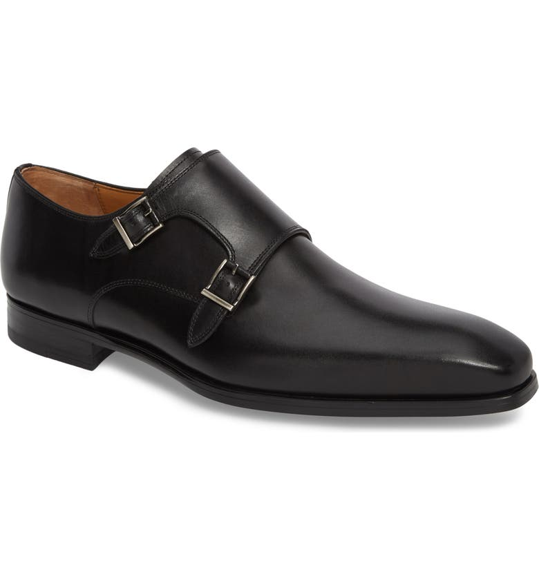 Ramolo Double Monk Strap Shoe by Magnanni