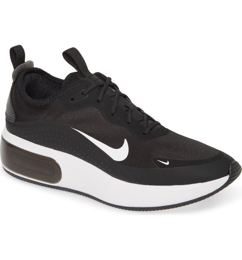 NIKE Air Max Dia Running Shoe, Main, color, BLACK/ WHITE/ BLACK