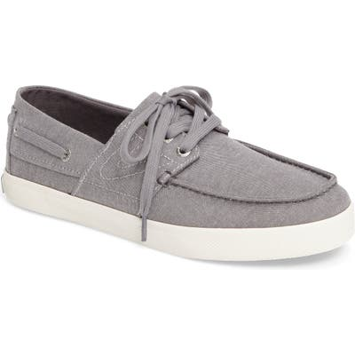 Tretorn Motto Boat Shoe, Grey