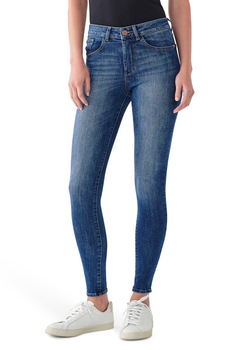 DL1961 Instasculpt Florence Ankle Skinny Jeans, Main, color, PARKER