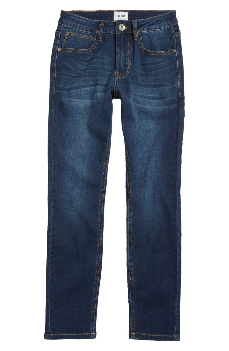 HUDSON KIDS Jude Slim Straight Leg Jeans, Main, color, 424