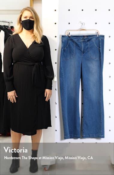 Teresa Wide Leg Utility Jeans, sales video thumbnail