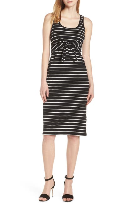 Image of Heartloom Kenzie Striped Tie Waist Dress