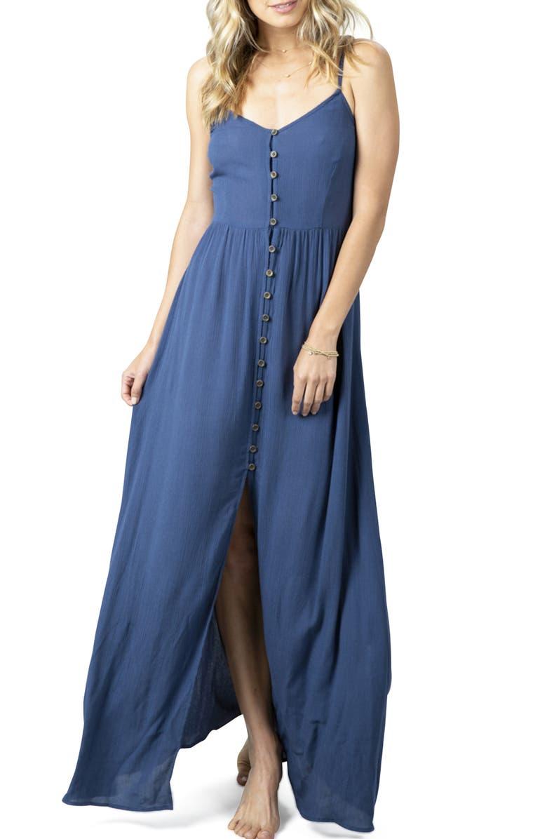 RIP CURL Sunsetters Maxi Dress, Main, color, 499