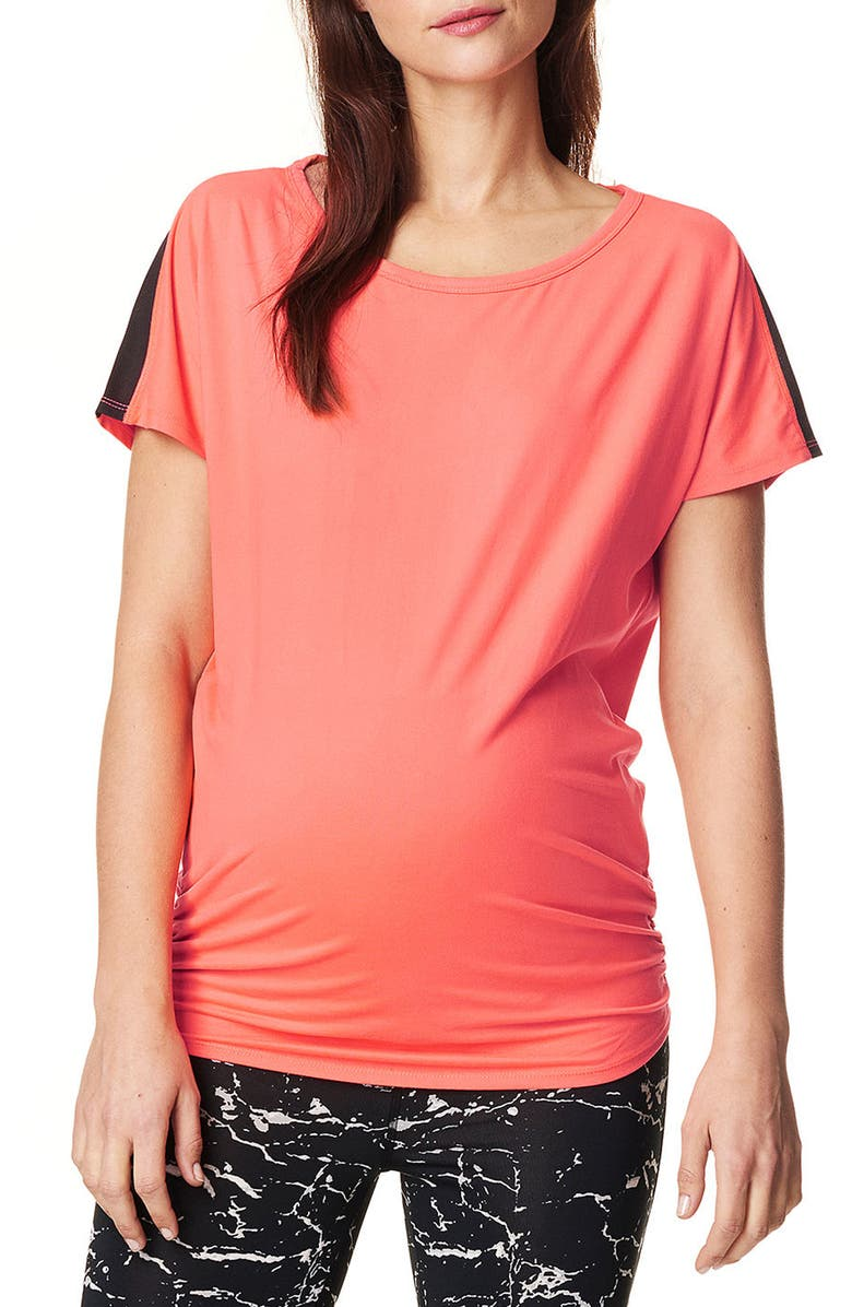 NOPPIES Feline Athletic Maternity Tee, Main, color, 952