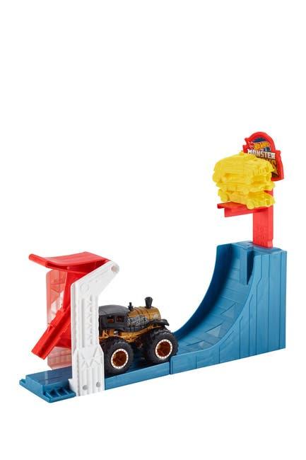 Image of Mattel Hot Wheels(R) Monster Trucks Big Air Breakout Playset
