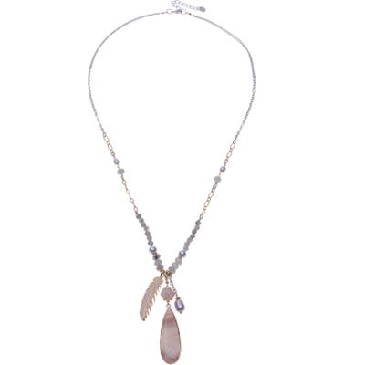 Nakamol Design Charm Necklace With Pearls