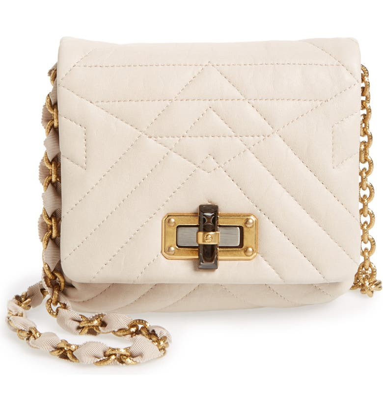 a315c4a6a Lanvin 'Mini Happy' Quilted Leather Crossbody Bag | Nordstrom