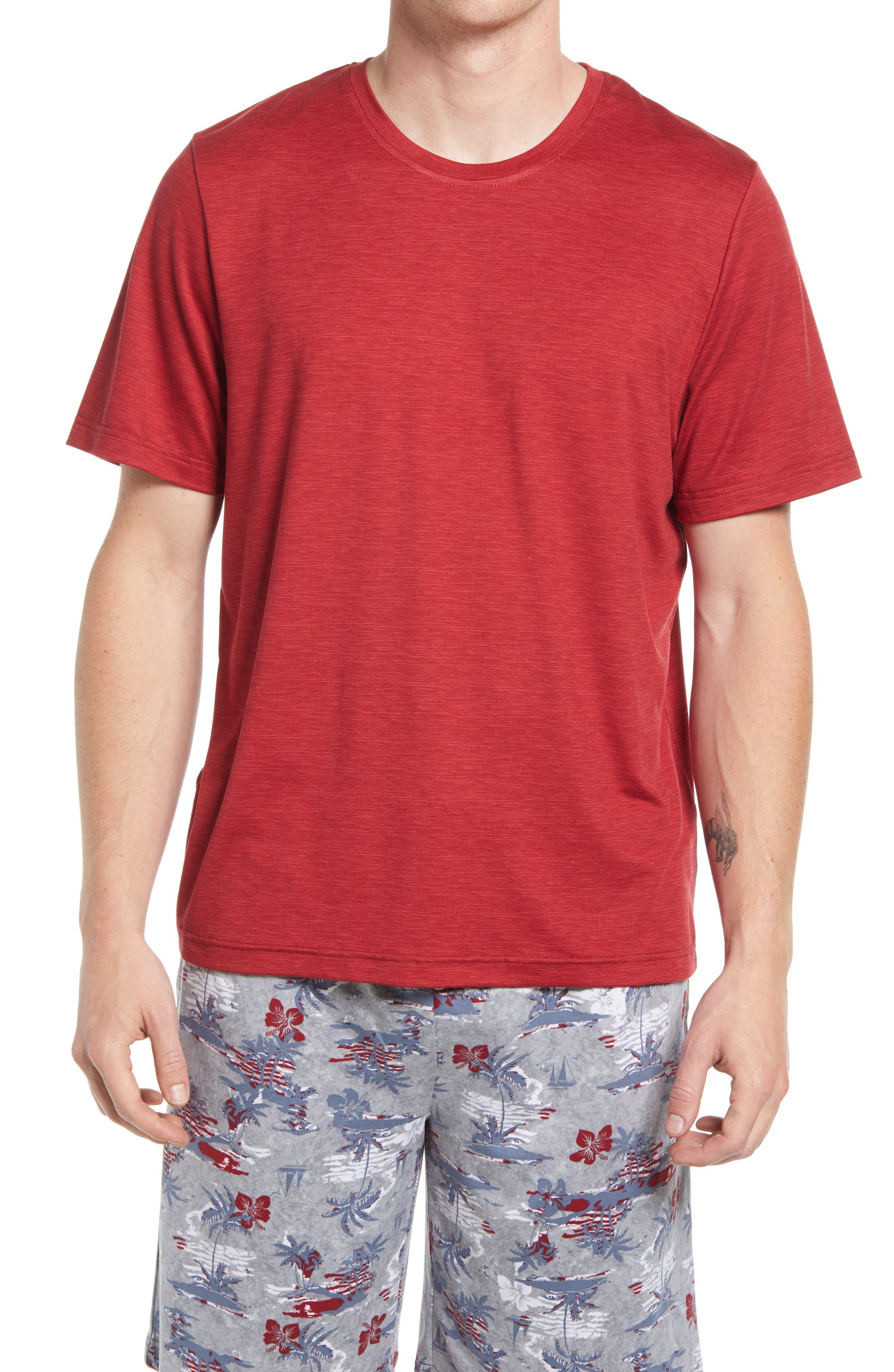 Slub Stripe Crewneck T-Shirt