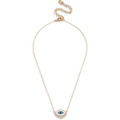 Baublebar Athena Eye Pendant Necklace