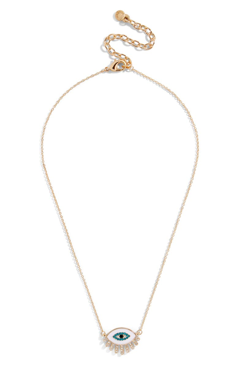 BAUBLEBAR Athena Eye Pendant Necklace, Main, color, 710