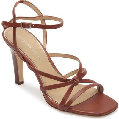 Etienne Aigner Milan Strappy Sandal- Brown