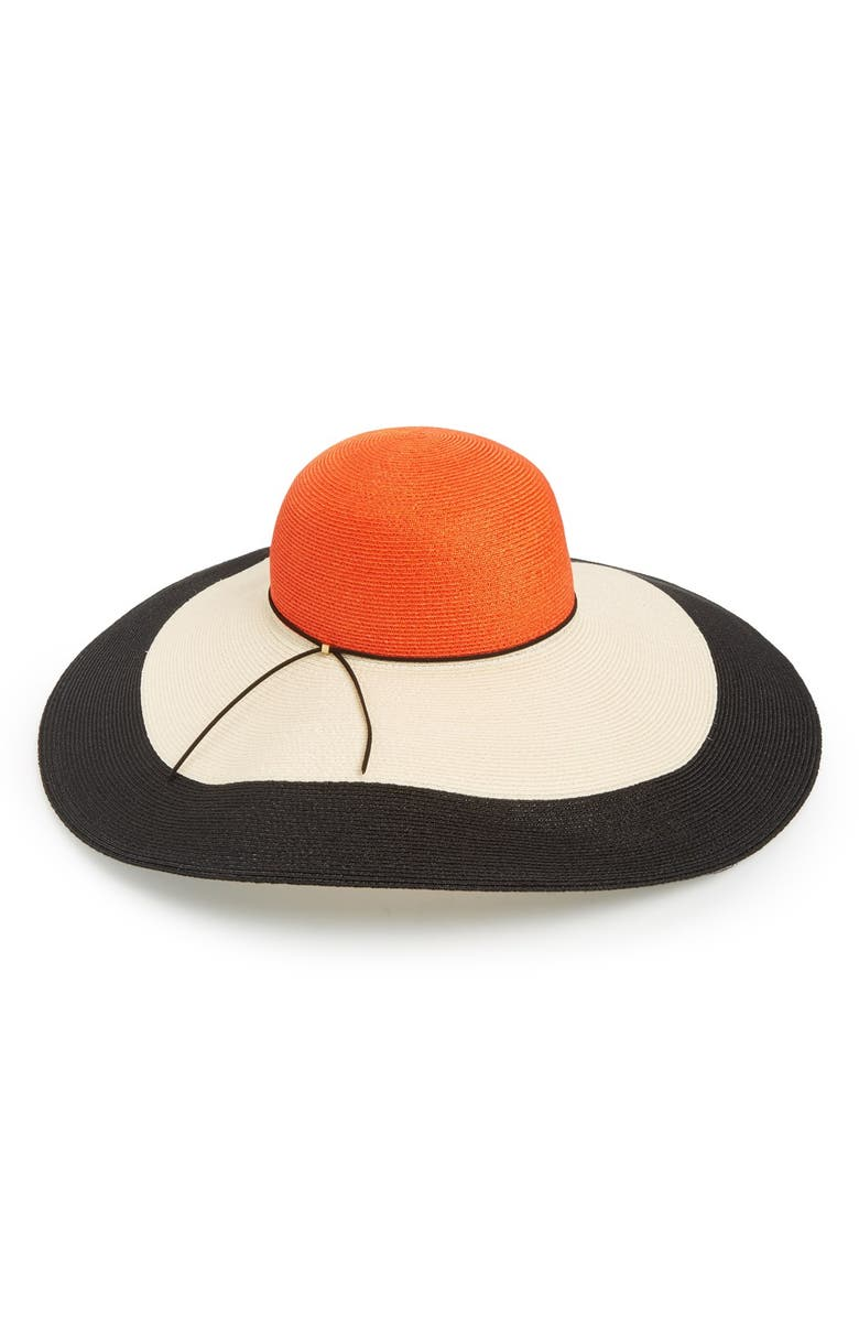 EUGENIA KIM Colorblock Sun Hat, Main, color, 250