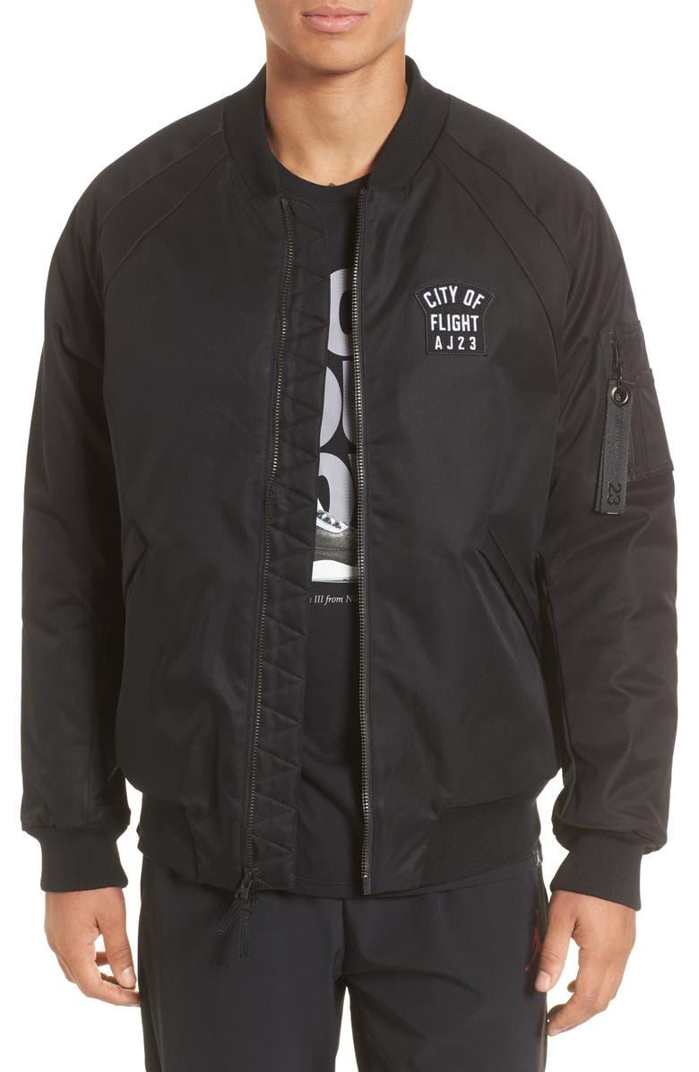 e80018f424d Nike Jordan Sportswear City of Flight MA-1 Bomber Jacket, Main, color,
