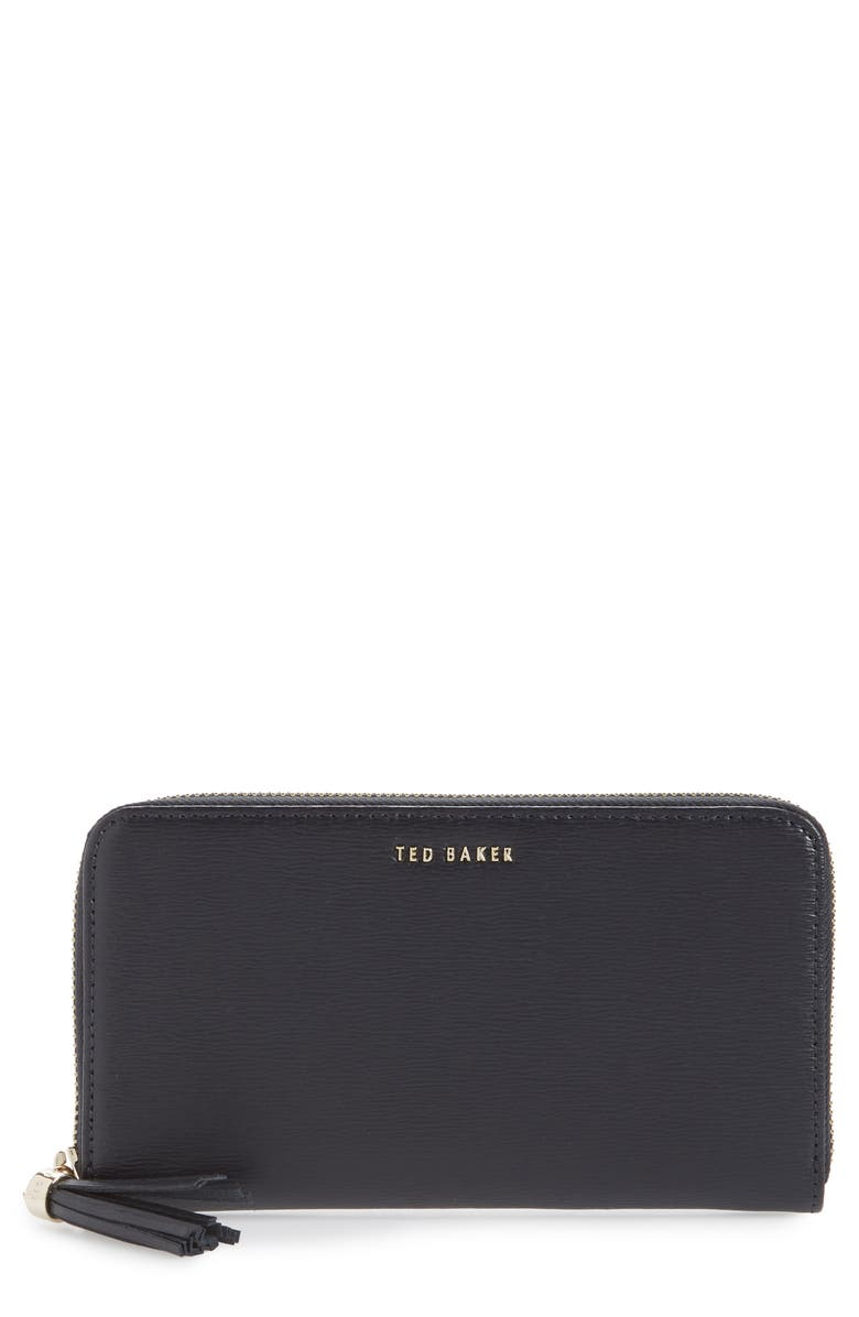 TED BAKER LONDON Tassel Leather Zip Matinée Wallet  原價港幣1249.88 優惠價749.93