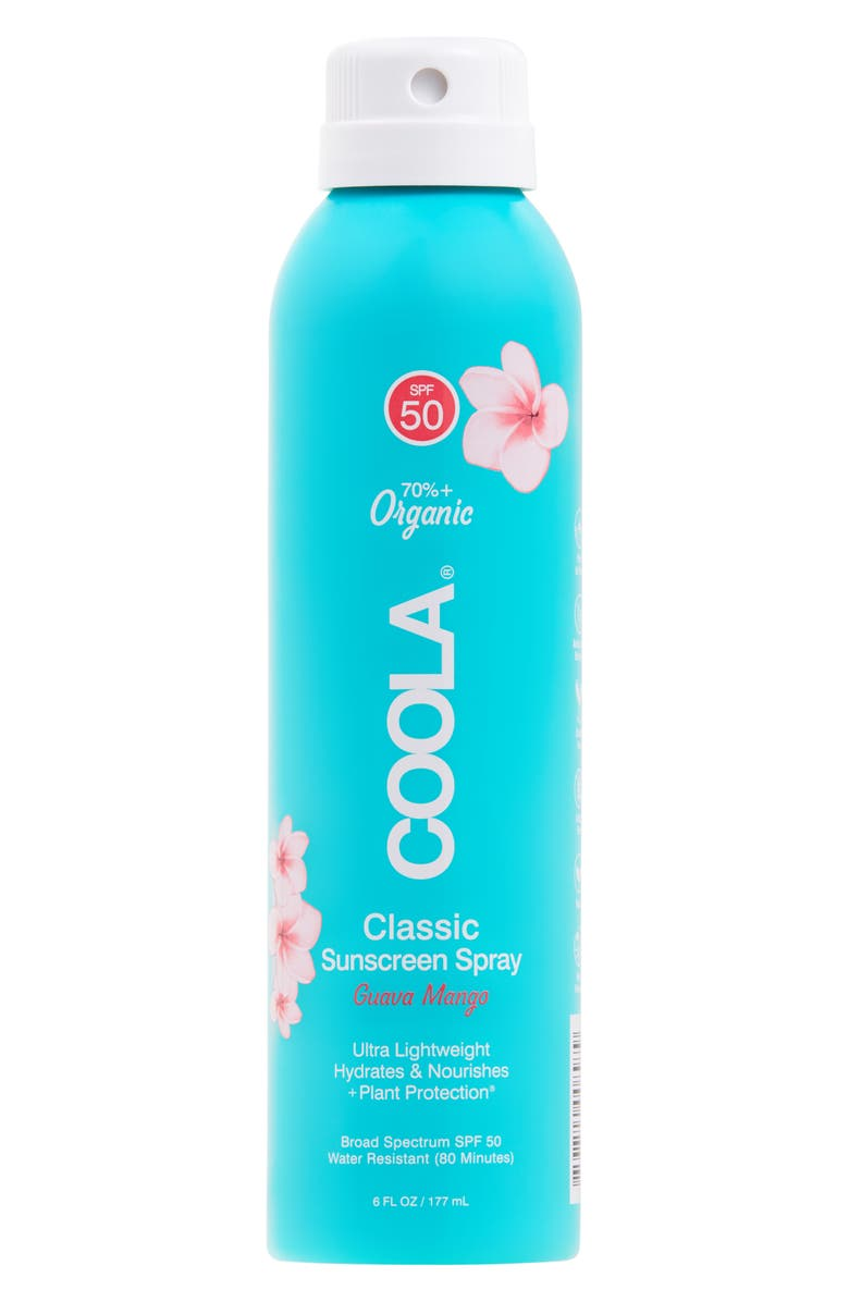 COOLA<SUP>®</SUP> Suncare Guava Mango Eco-Lux Sport Sunscreen Spray SPF 50, Main, color, NO COLOR