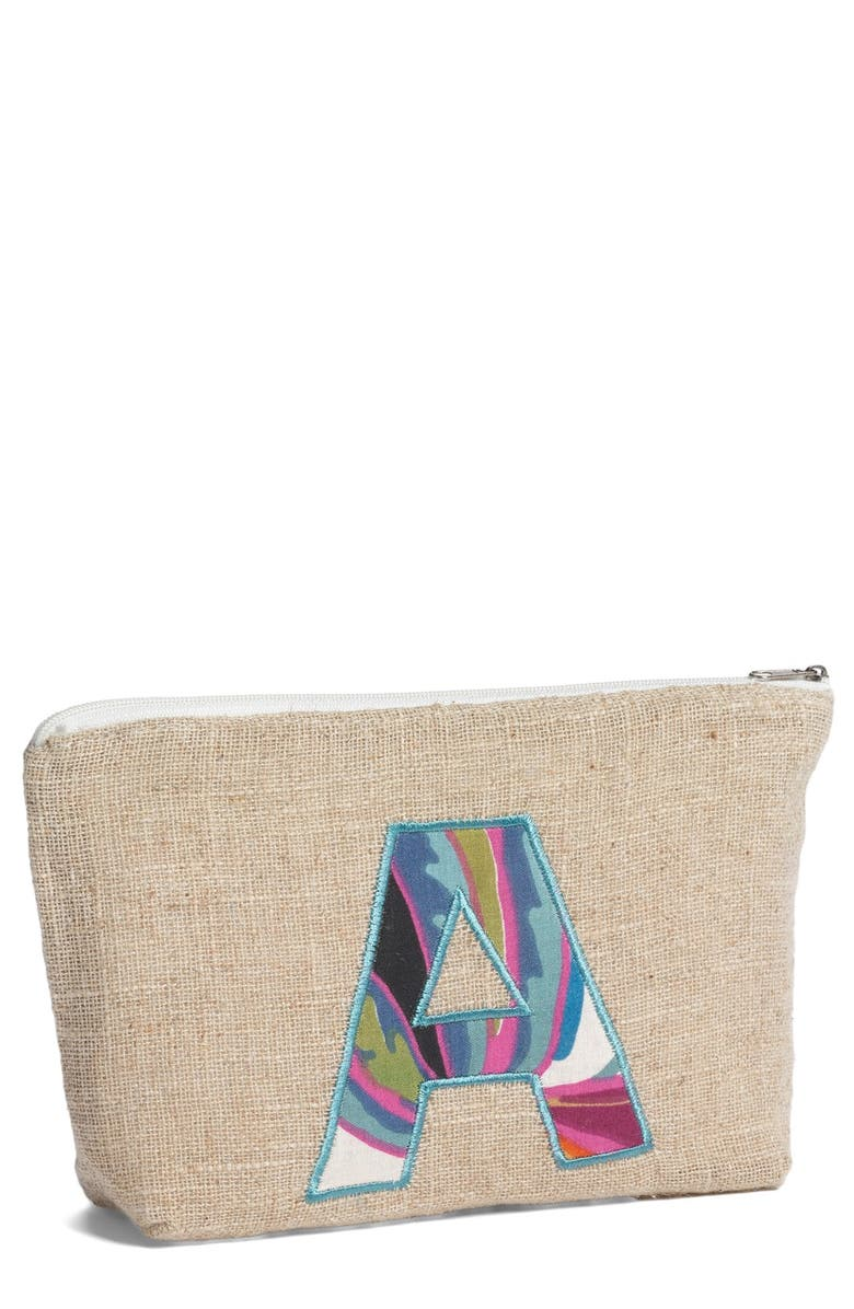 LEVTEX Personalized Canvas Pouch, Main, color, 250