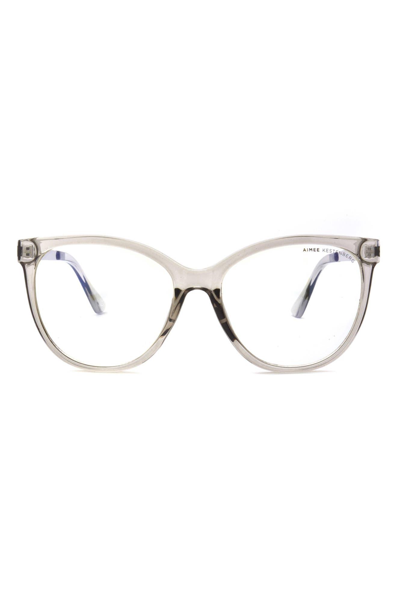 Bowery 55mm Cat Eye Blue Light Blocking Glasses