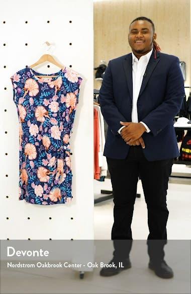 Flowers of India T-Shirt Dress, sales video thumbnail