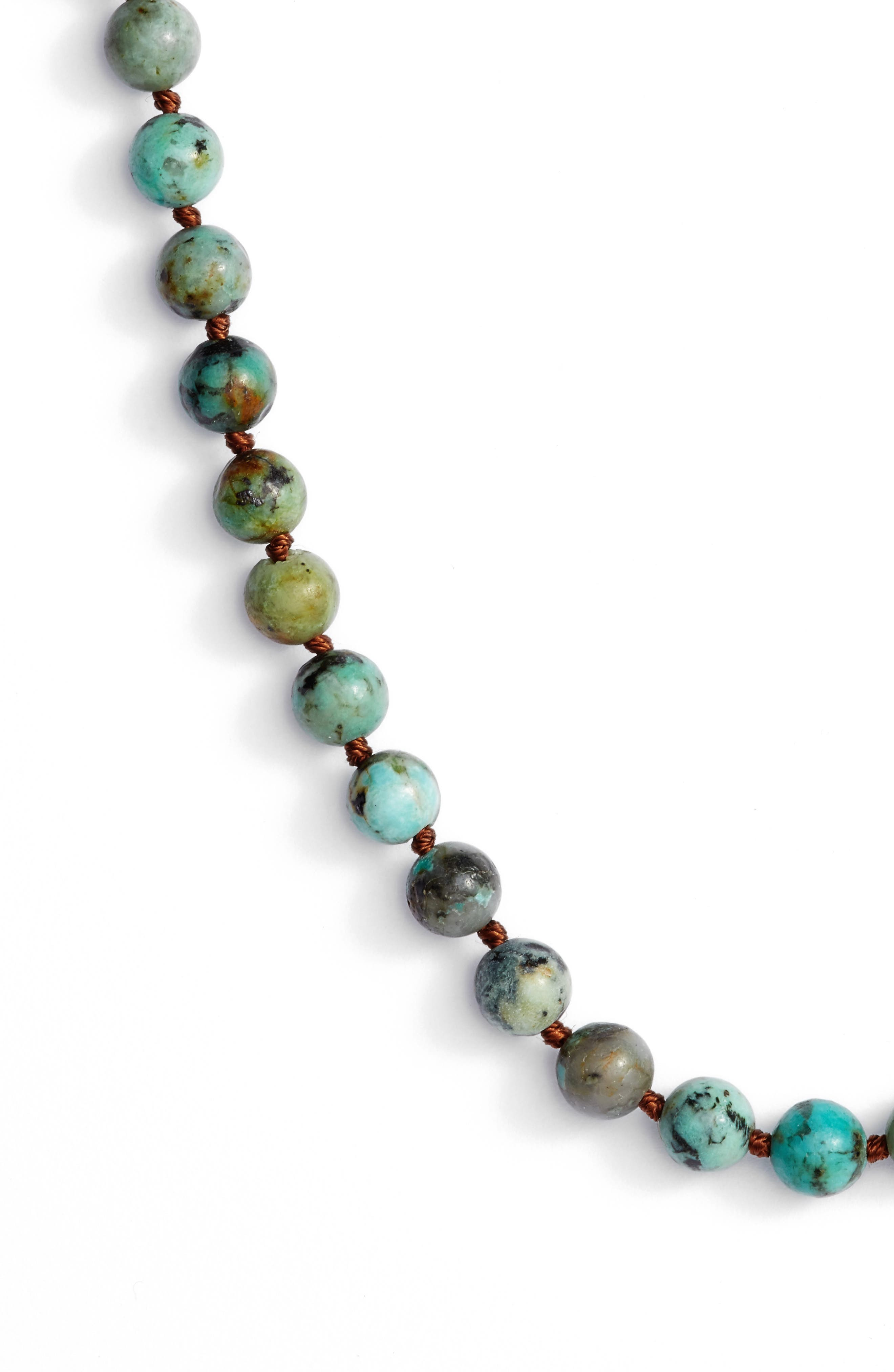 ,                             Love's Affect Knotted Semiprecious Stone Necklace,                             Alternate thumbnail 8, color,                             300