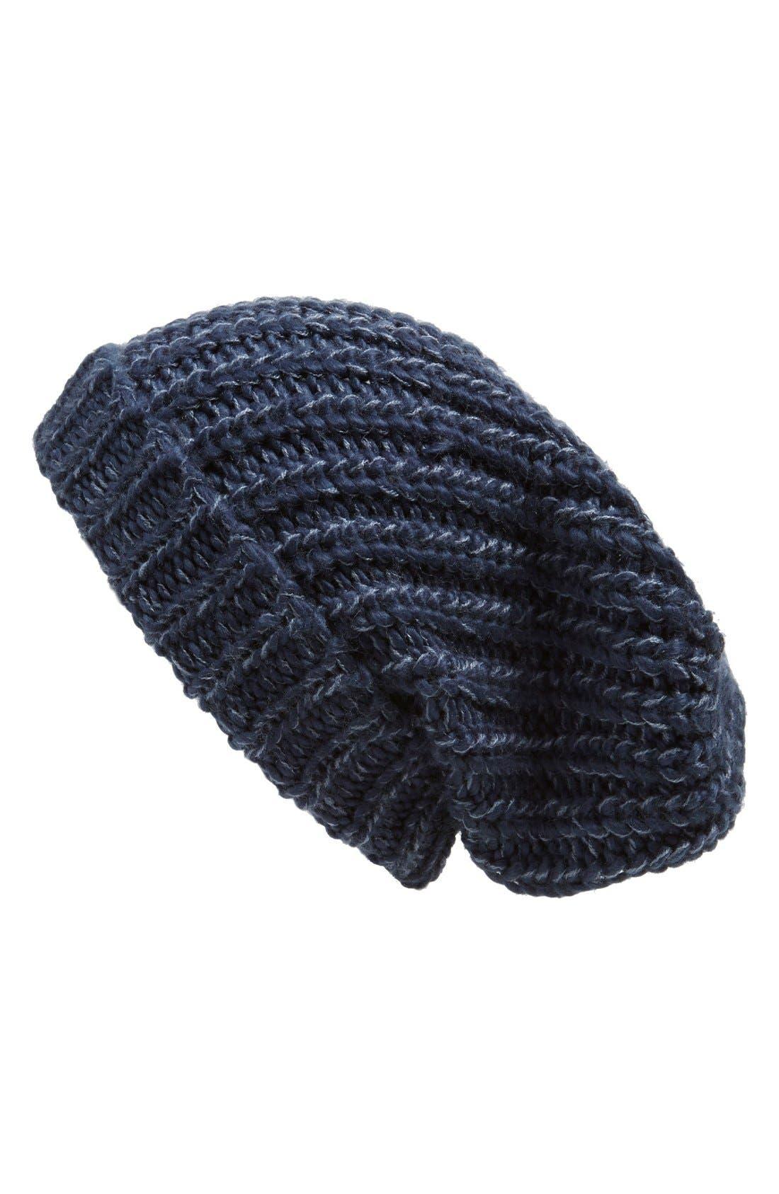 ,                             Chunky Rib Knit Beanie,                             Main thumbnail 11, color,                             400