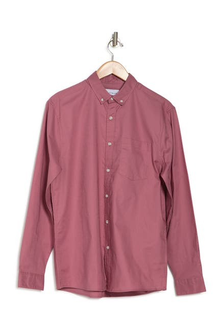 Image of TOPMAN Solid Oxford Shirt