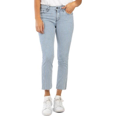 Kut From The Kloth Kelsey High Waist Ankle Kick Flare Jeans, Blue