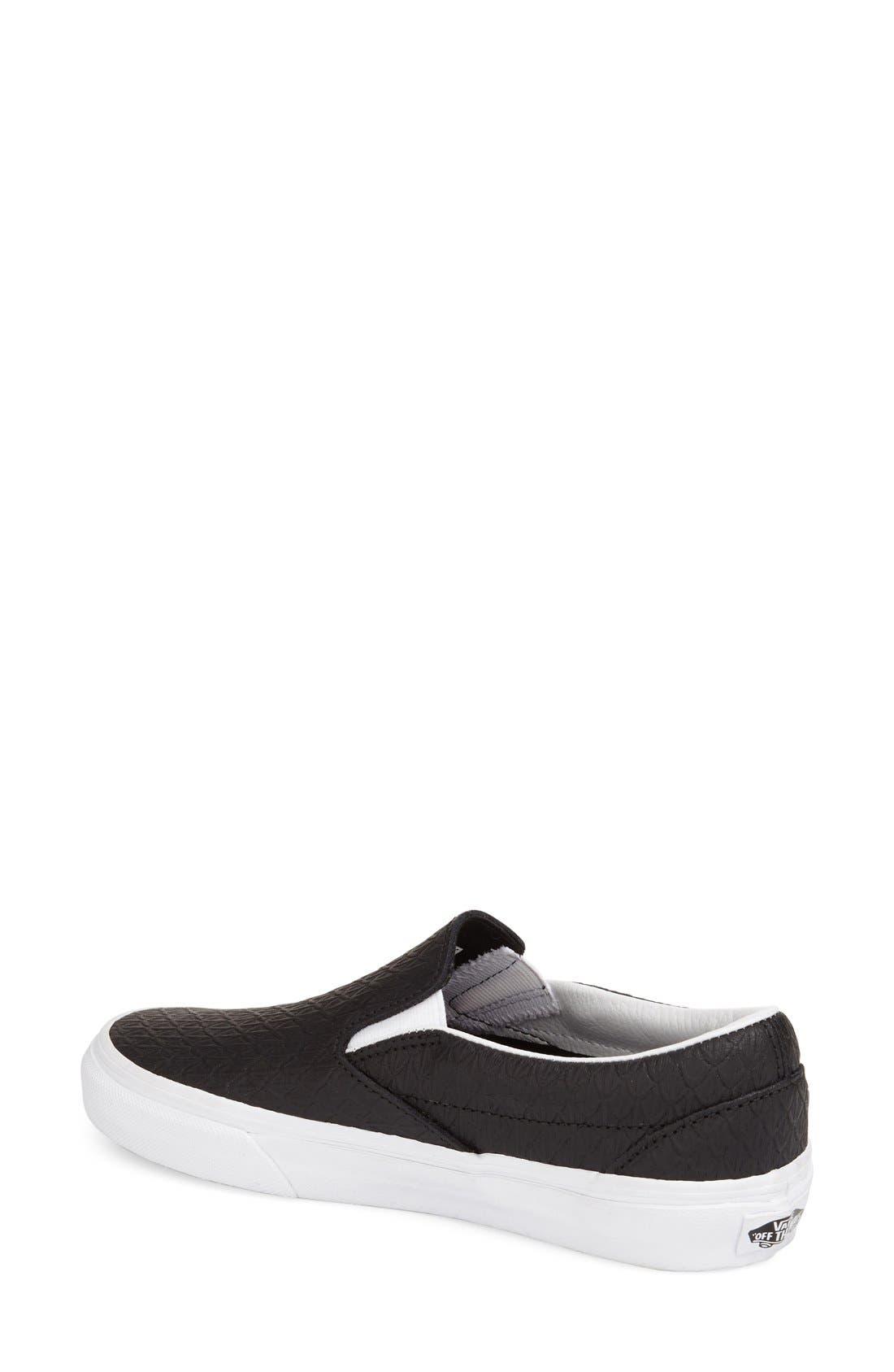 ,                             Classic Slip-On Sneaker,                             Alternate thumbnail 245, color,                             002