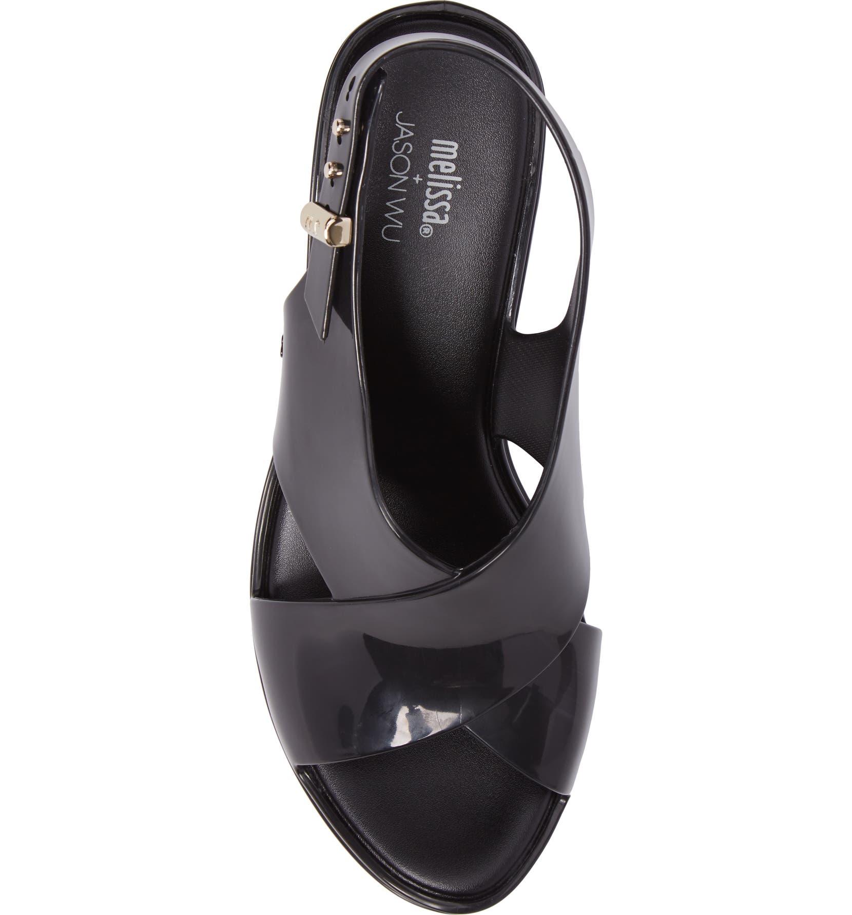 01549014b83 Melissa x Jason Wu Jamie Cross Strap Slingback Sandal (Women ...