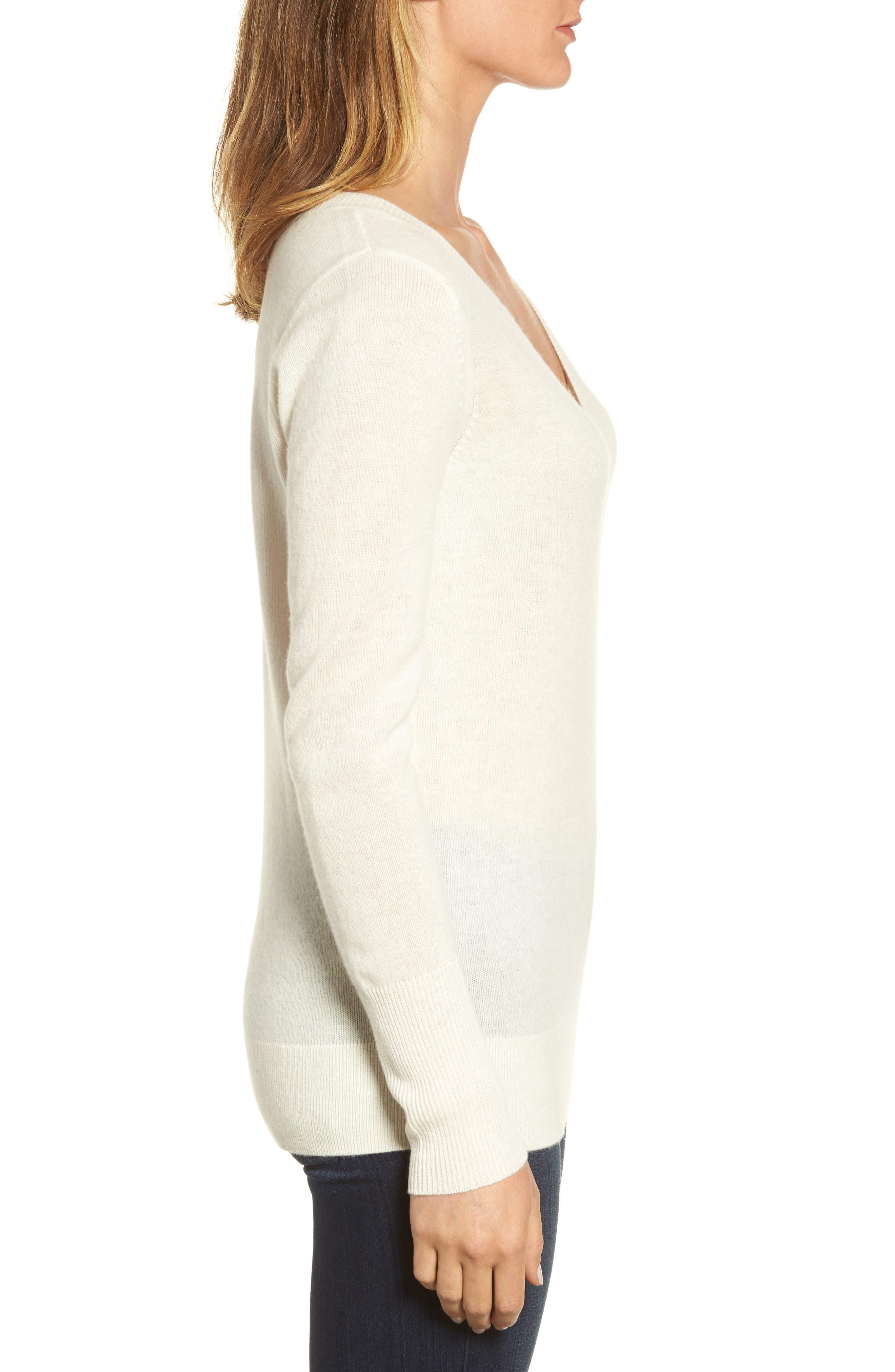 ,                             V-Neck Cashmere Sweater,                             Alternate thumbnail 72, color,                             900