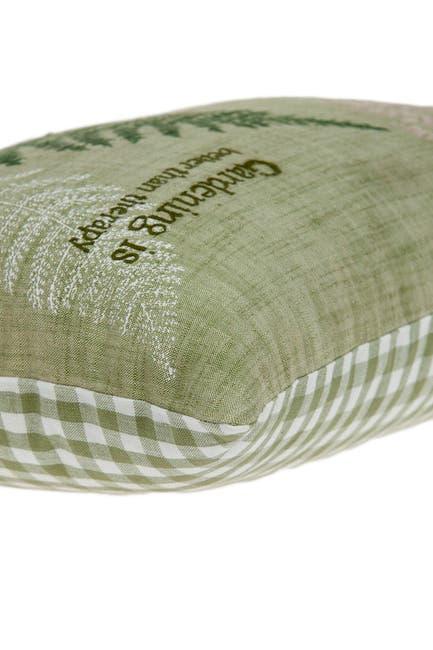 "Image of Parkland Collection Eureka Tropical Pillow - 14"" x 20"" - Green"