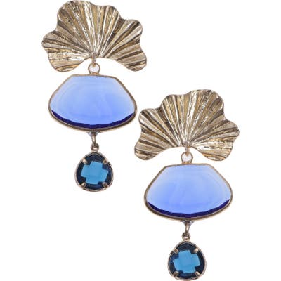 Nakamol Design Glass Drop Earrings