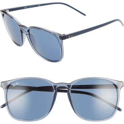 Ray-Ban Phantos 5m Sunglasses - Transparent Blue