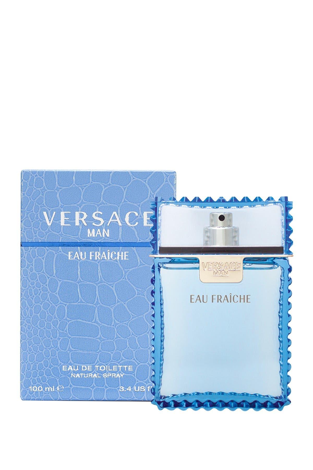 Image of Versace Eau Fraiche Eau de Toilette Spray - 3.4 oz.