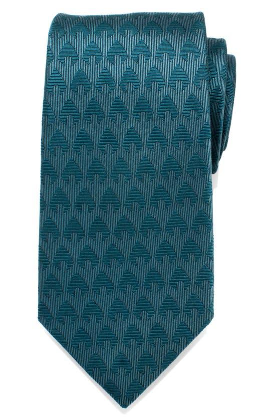 Cufflinks, Inc Aquaman Silk Tie In Green