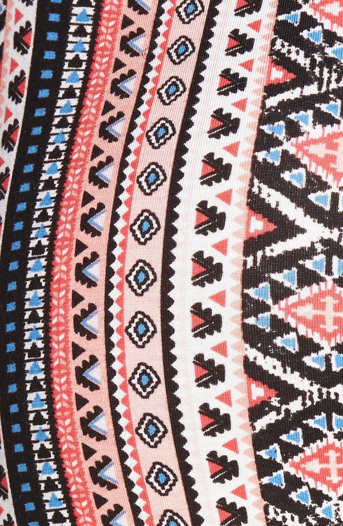 ,                             Mixed Print Flare Leg Pants,                             Alternate thumbnail 122, color,                             950