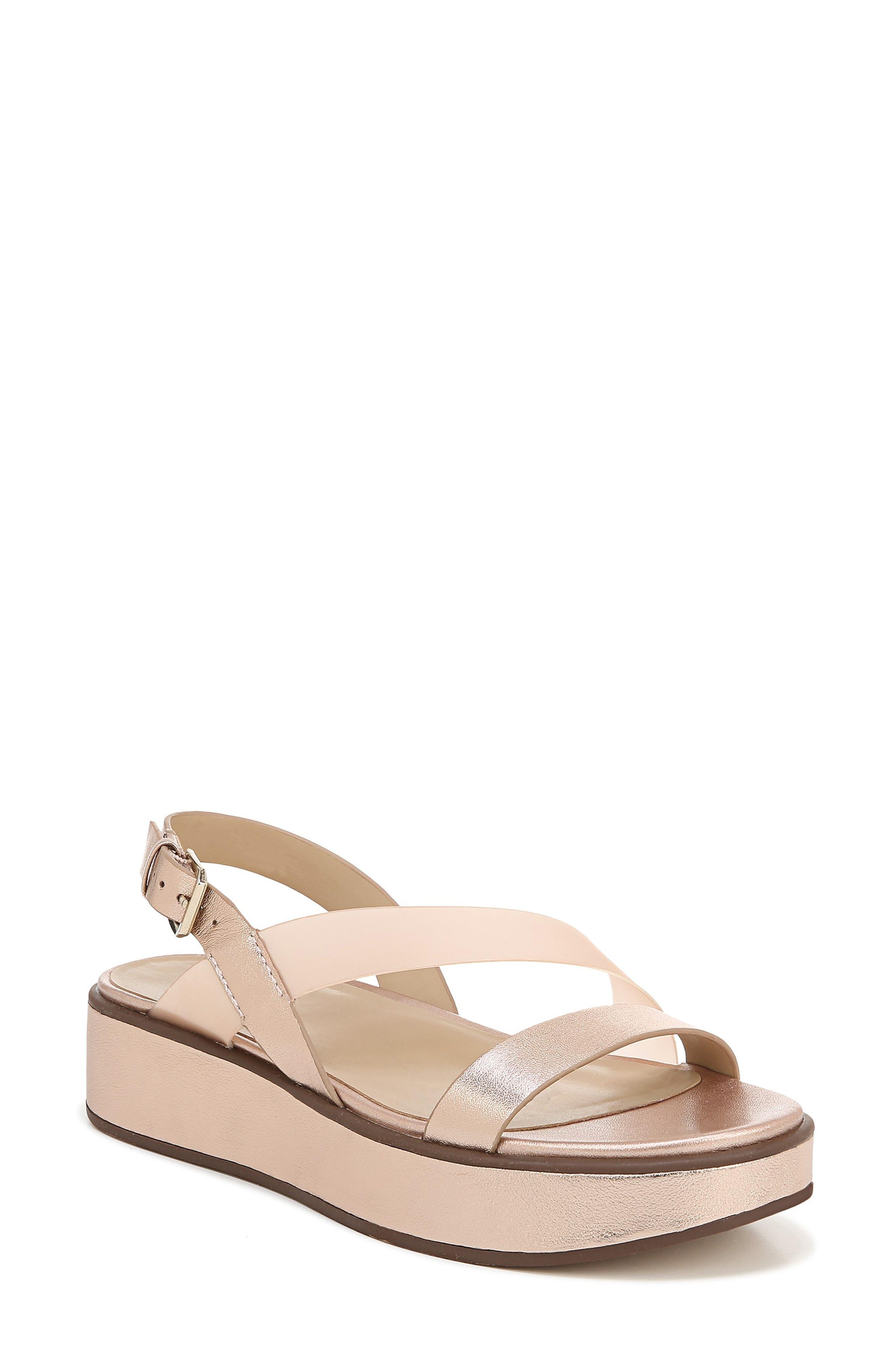 Naturalizer Charlize Platform Sandal, Pink