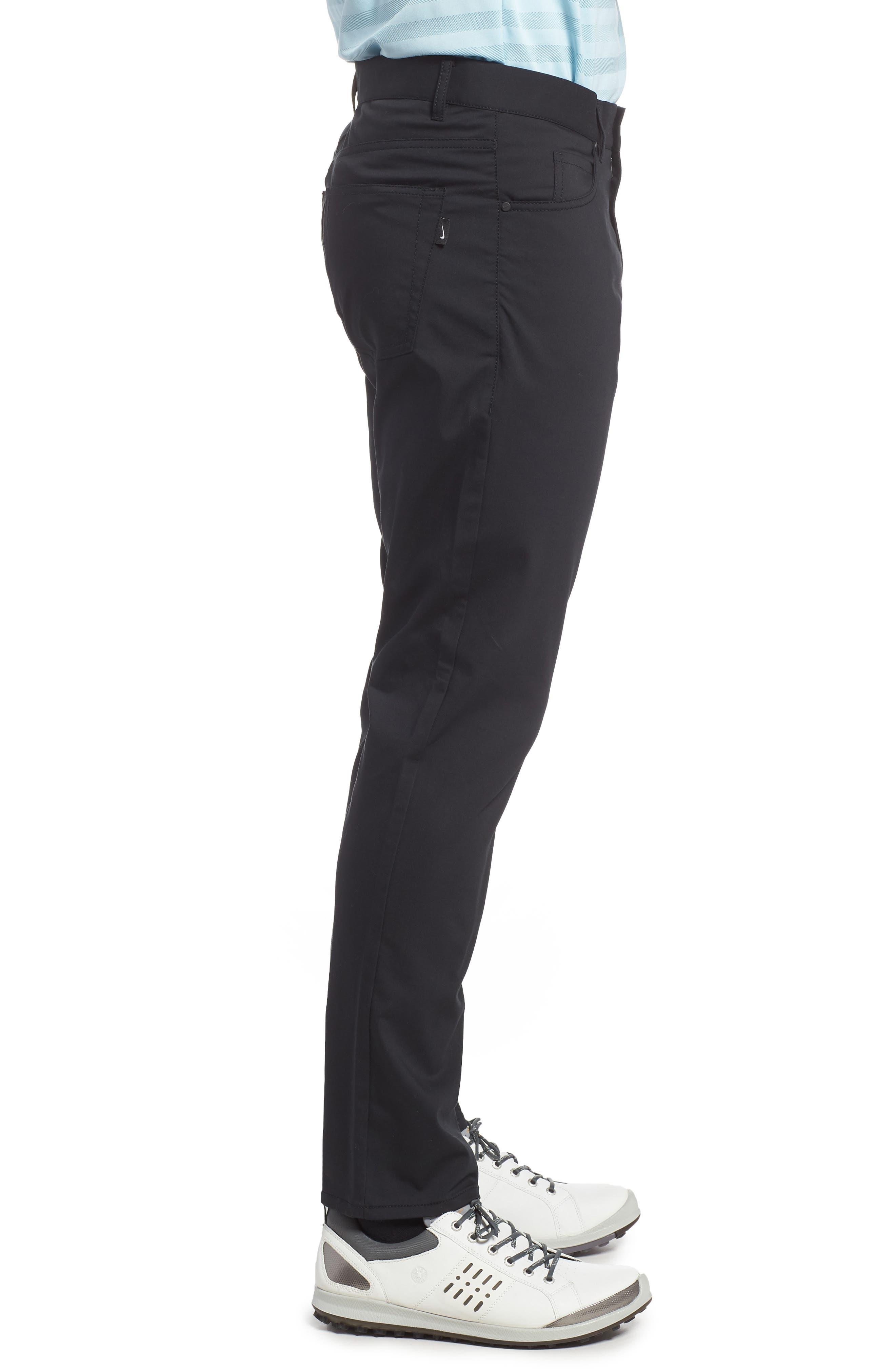 ,                             Flex Slim Fit Dri-FIT Golf Pants,                             Alternate thumbnail 4, color,                             010