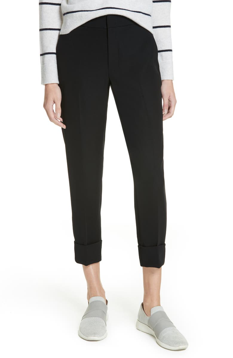 4558867da Coin Pocket Oversize Cuff Trousers, Main, color, 001