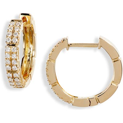 Bony Levy Katherine Pave Diamond Hoop Earrings (Nordstrom Exclusive)