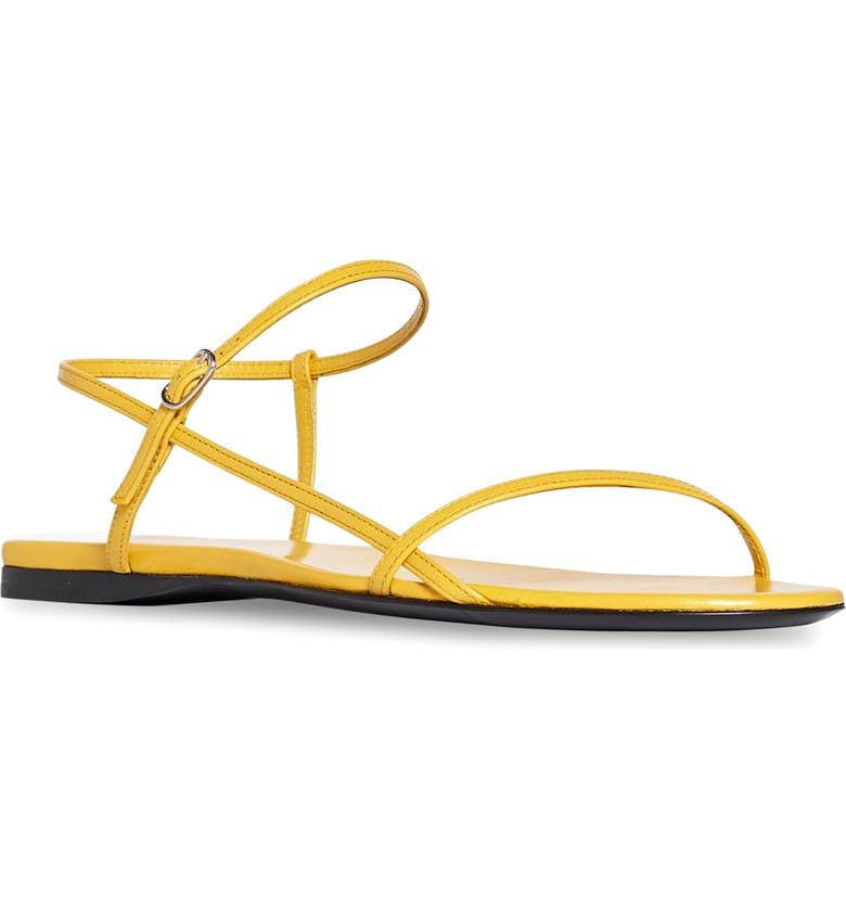 THE ROW Bare Sandal, Main, color, MUSTARD