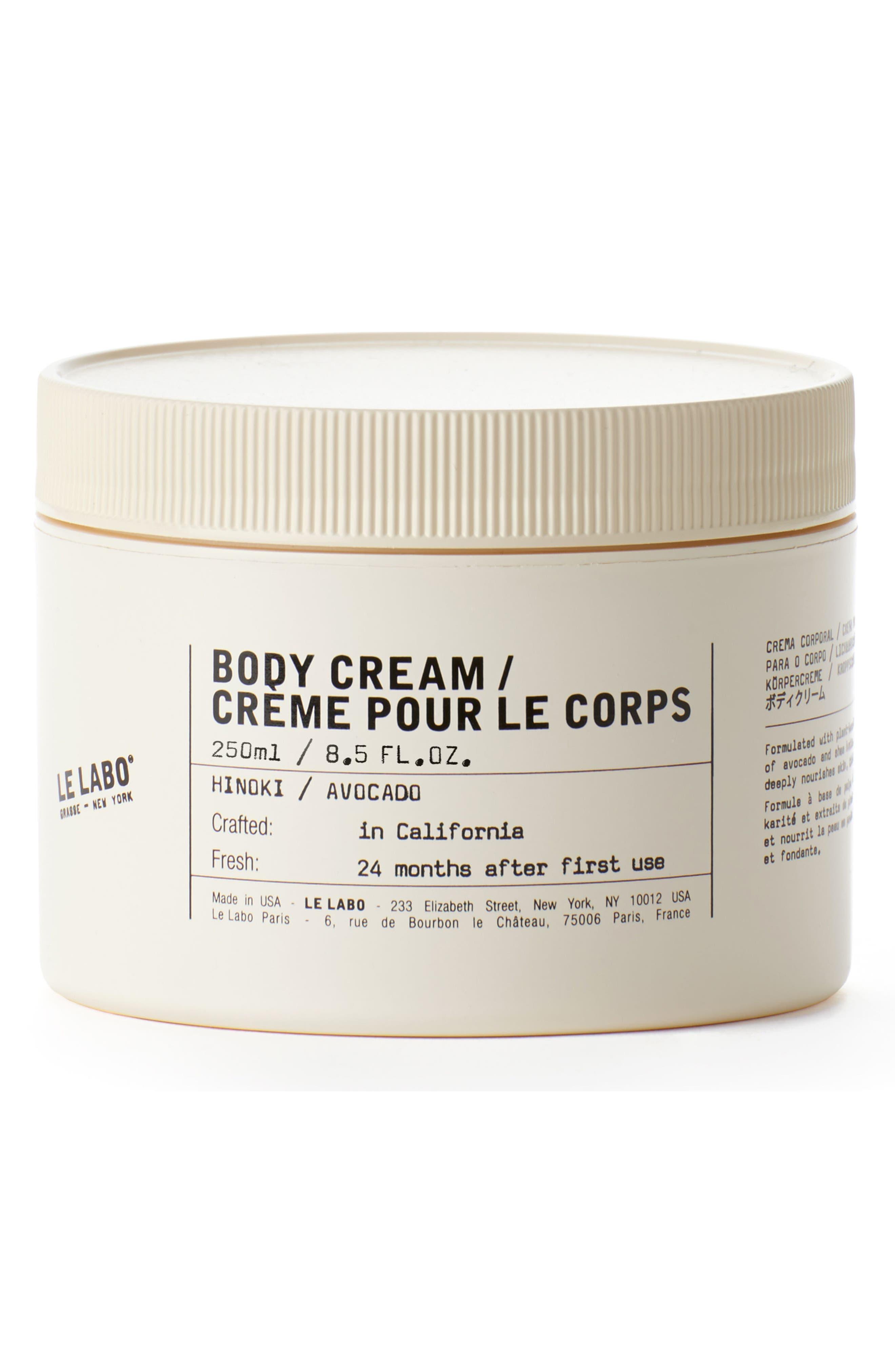 Hinoki Body Cream
