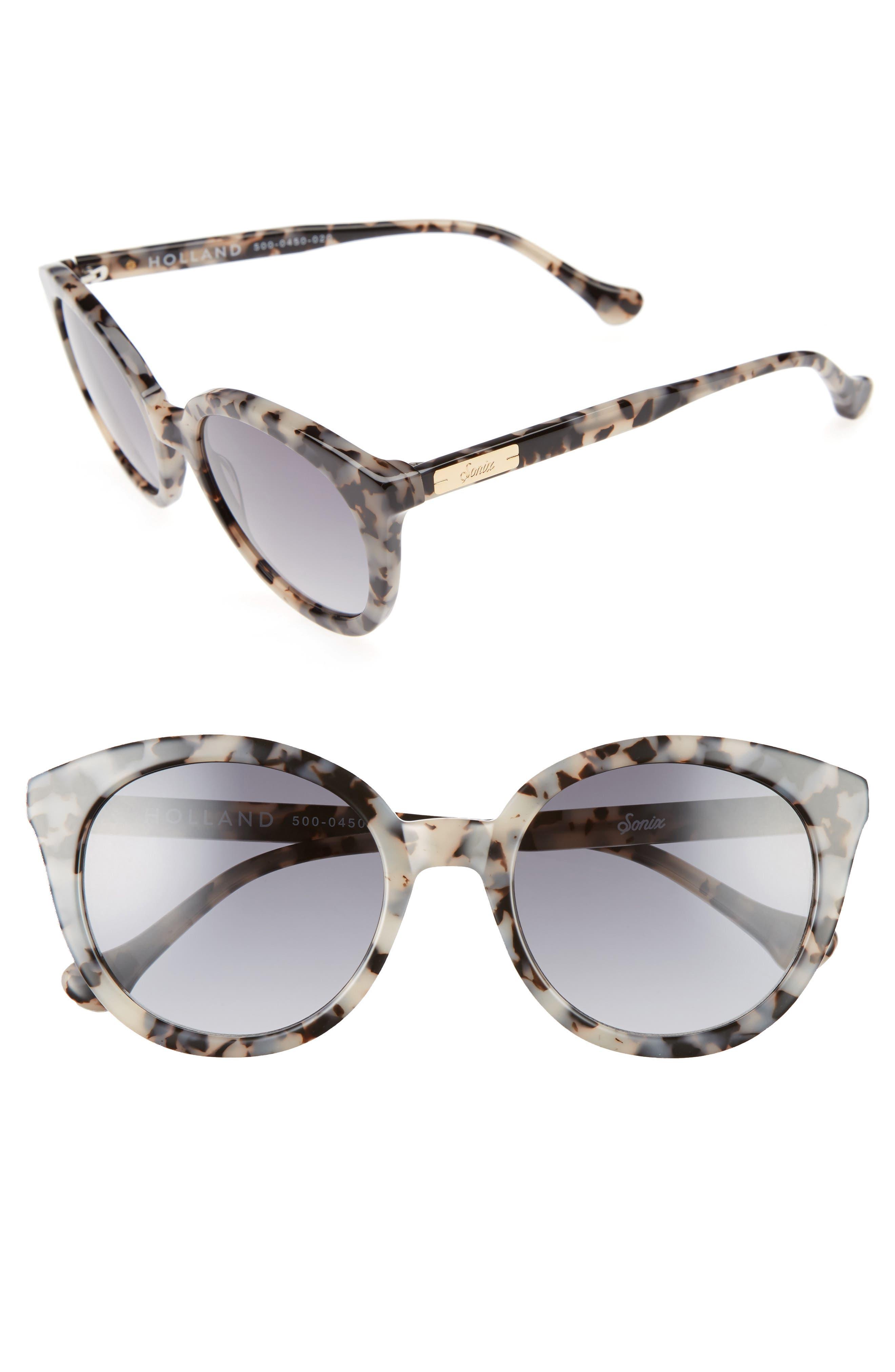 ,                             Holland 50mm Gradient Round Sunglasses,                             Main thumbnail 12, color,                             250