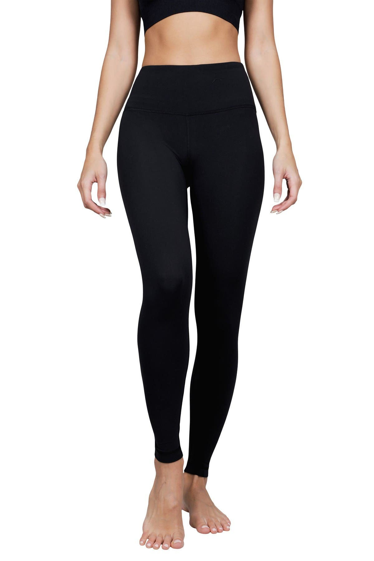 Image of 90 Degree By Reflex Nude Tech High Rise Ankle Leggings