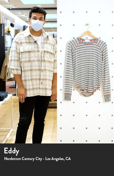Joyful Stripe Pajama Top, sales video thumbnail
